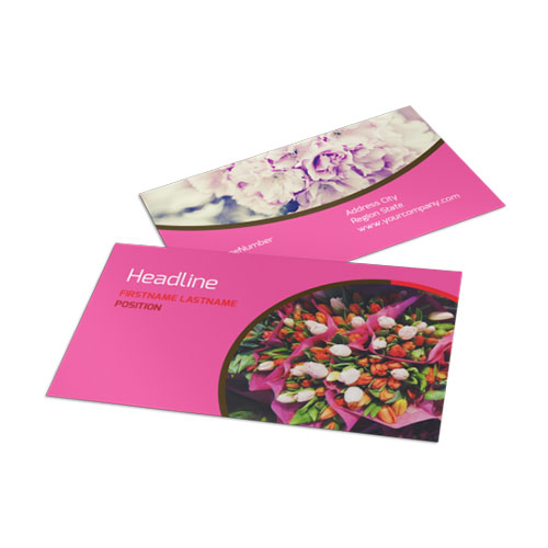 Florists & Flower Delivery Service Business Card