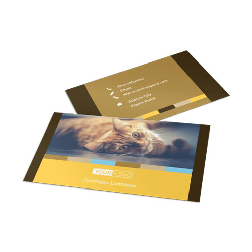 Animal Shelter & Pet Adoption Business Card