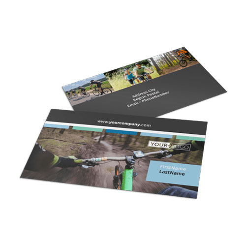 Biking & Cycling Business Card