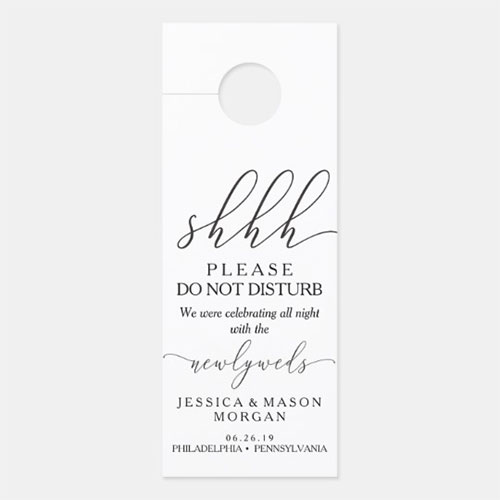 Wedding Door Hanger