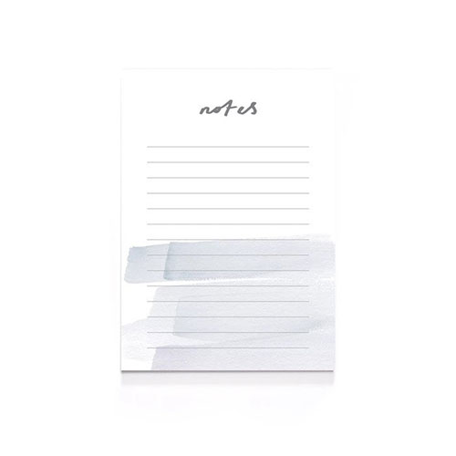 Brush stroke notes Notepad