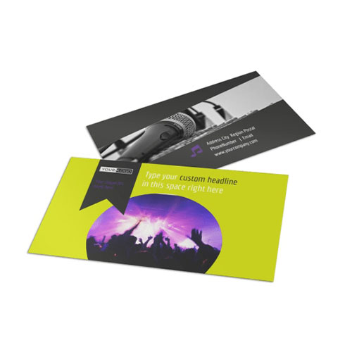 Christian Music Concert Business Card