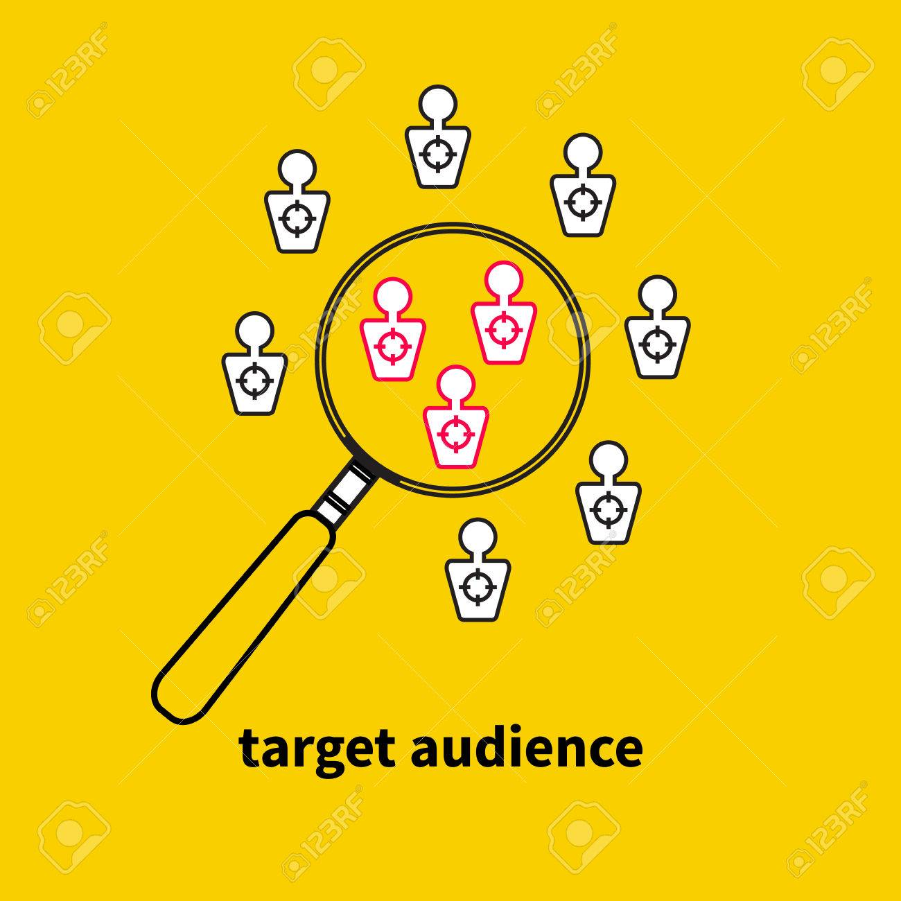 target-audience-vector-magnifying-glass-and-people-targets-market-research