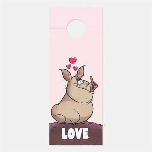 "A. J. HOGG ""LOVE"" Door Hanger"